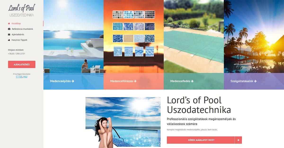 Lord's of Pool Uszodatechnika: www.lordsofpool.hu