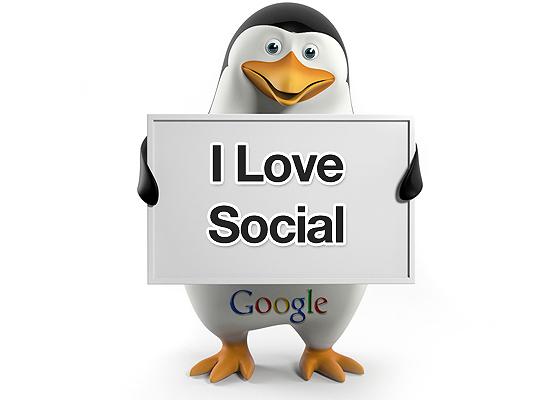 Szereti a közösségi médiát a Google Pingvin!